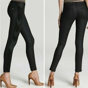 NWT Rag & Bone Black Raja Shoreditch Skinny Jeans